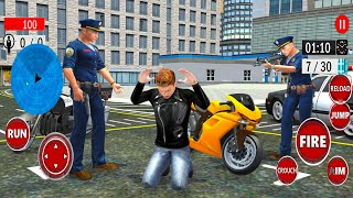 LA Police Officer Chase Simulator - Policeman Job Game - Android Gameplay