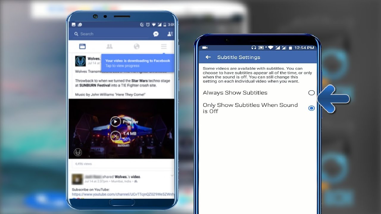How to Customize Subtitles on Facebook Videos in Android