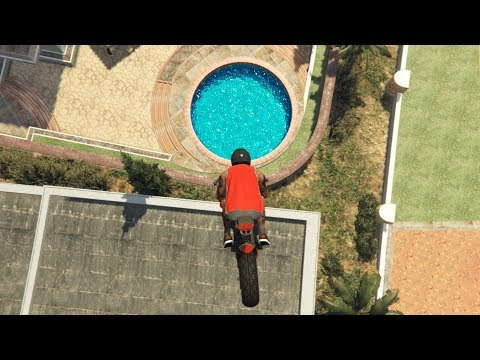 GTA 5 CRAZY Jumps/Falls Compilation #17 (GTA V Fails Funny Moments) thumbnail