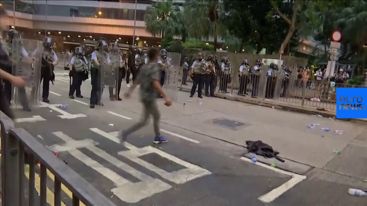 Hong Kong protests over China extradition bill