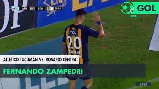 Fernando Zampedri (0-1) Atl. Tucumán vs Rosario Central | Fecha 12 - Superliga Argentina 2018/2019