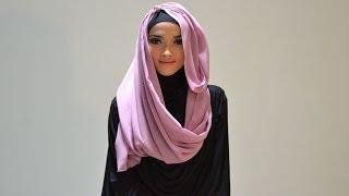 Hijab Tutorial Style 52 by Puteri Hasanah Karunia Thumbnail