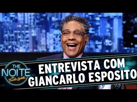 The Noite 150915  Entrevista com Giancarlo Esposito