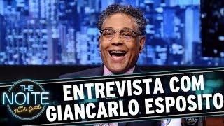 The Noite (15/09/15) - Entrevista com Giancarlo Esposito
