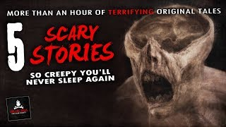 """5 Scary Stories So Creepy You'll Never Sleep Again 💀 """"Death at 423 Stockholm Street"""" & Other Tales"""