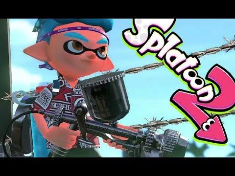 Splatoon 2 Back To My Old Gun Turf War Nintendo