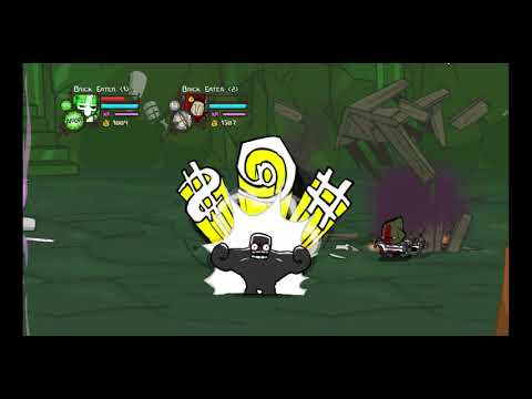 Castle Crashers How To Do The Wizard Castle Interior XP Glitch
