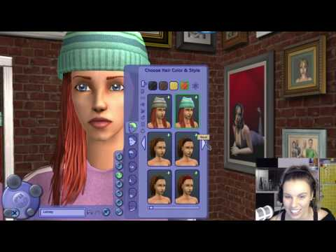 Playing The Sims 2 Live Stream :)