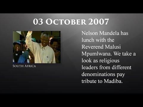 The Mandela Diaries: 03 October 2007