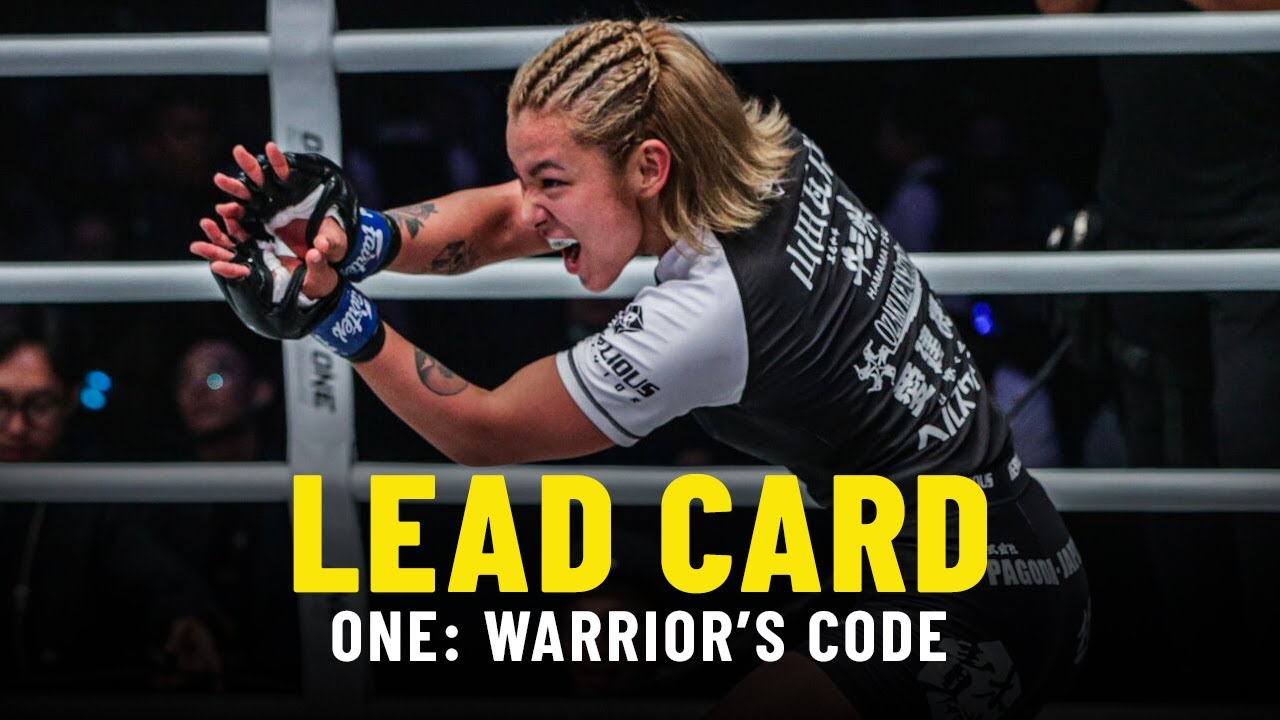 ONE: WARRIOR'S CODE Lead Card Highlights