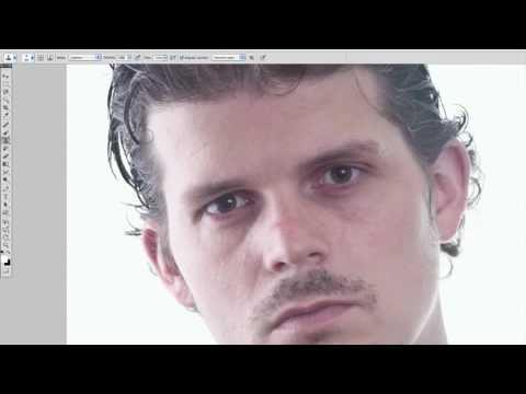 Photoshop Tutorial Hur Tar Man Bort Mörka Ringar Under ögonen