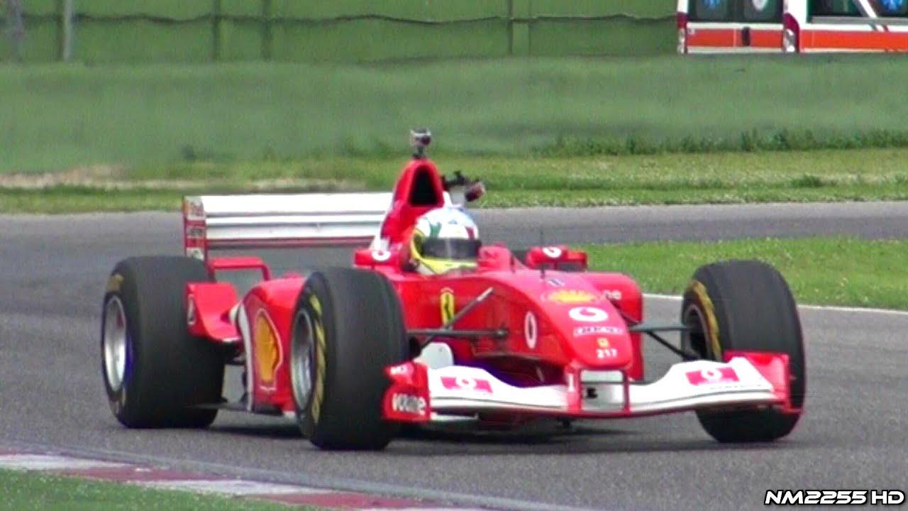 Ferrari F2002 F1 V10 Pure Sound At Imola Circuit Youtube