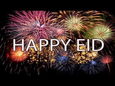 Happy Eid 2017 Eid Mubarak wishes, Eid Greetings,  Eid Ul Fitr E-card, Eid Whatsapp Video