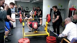 Heikki Heiskanen 132,5kg penkki  (-83kg M50)