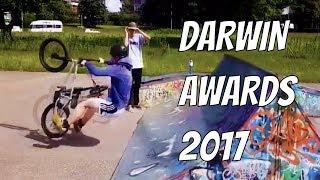DUMB PEOPLE FAIL DARWIN AWARDS COMPILATION 2017