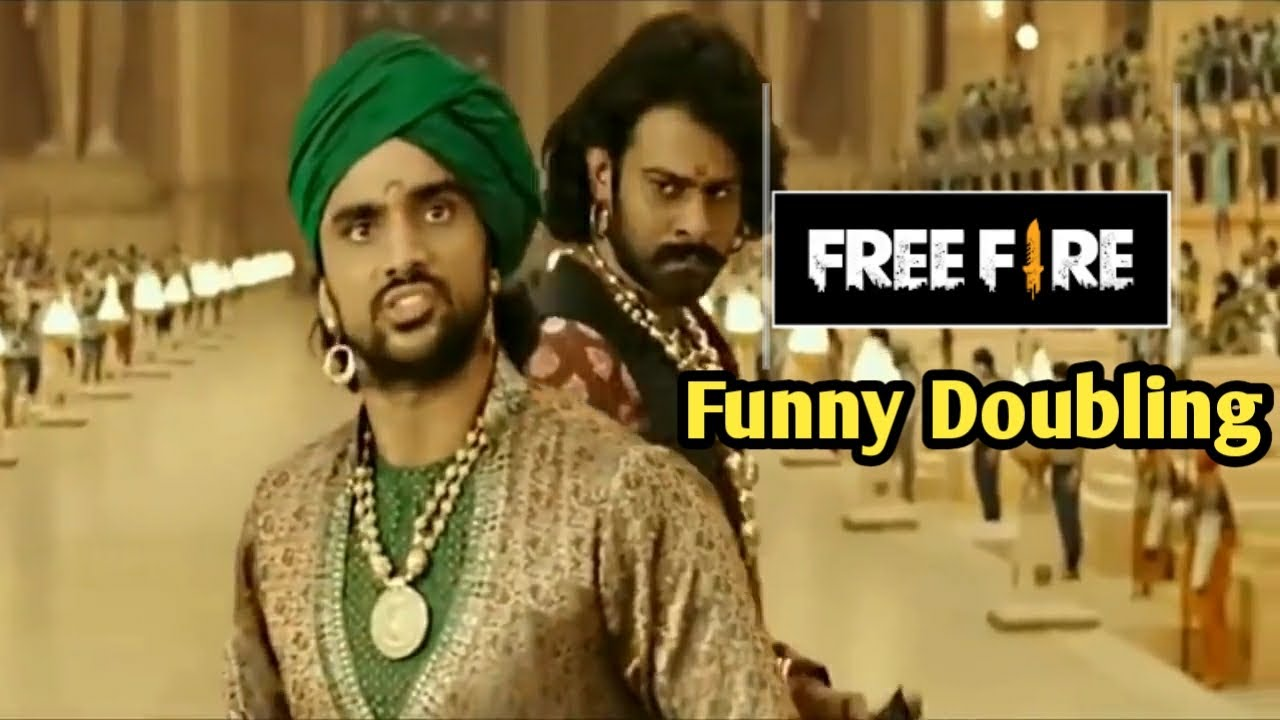 Download Free Fire:- Bahubali Movie Funny Dubbing Video