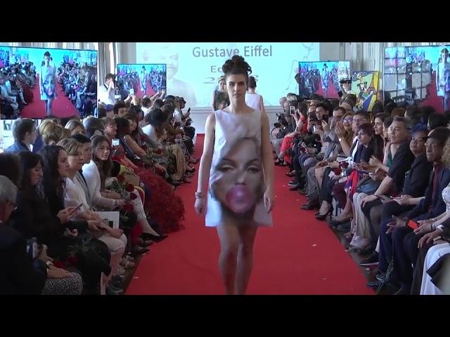 """défilé Haute couture """"Fashion Night Couture 2018"""" / créations Véronique FOURNIER"""