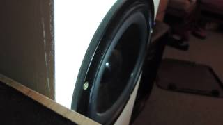 Visaton W170s Subwoofer Excursion Flex T Line Massive Bass