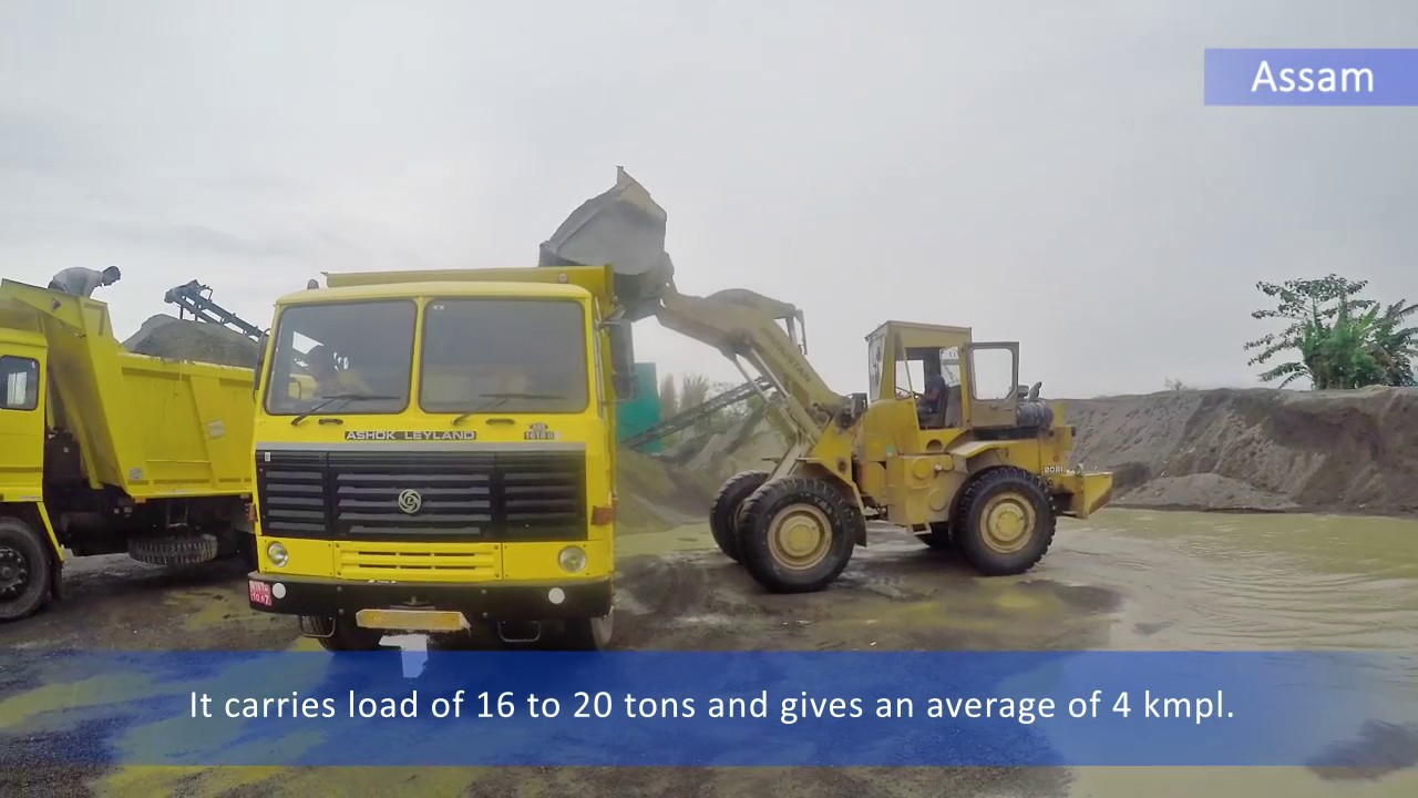 Ashok Leyland Customer Testimonial Assam - 1618 Tipper