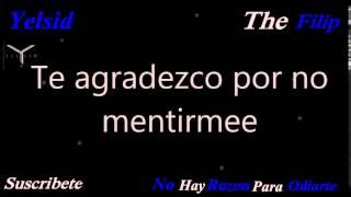 (Letra) Yelsid - No hay Razon para odiarte (Lyric 2015) Romantico