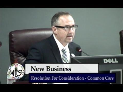 Williamson County School Board Meeting - October 2014