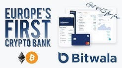 Bitwala Review: Europe's First Fully Compliant CRYPTO BANK! (+ €35 For Free)