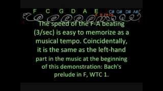 harpsichord tuning setting bach lehman 1722 by ear