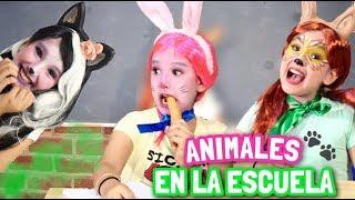 ¡SI LOS ANIMALES FUERAN A LA ESCUELA! - Gibby :)