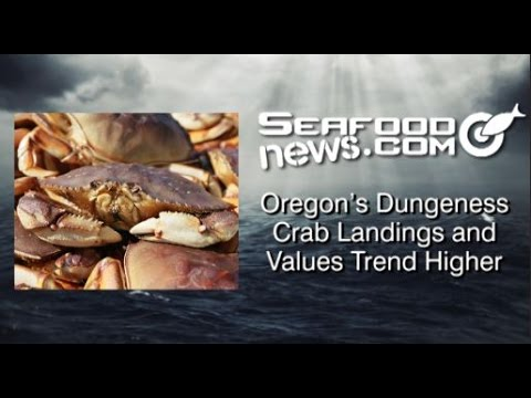 Oregon's Dungeness Crab Landings and Values Trend Higher