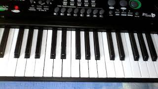 Как научица играть на пианино пираты карибского моря
