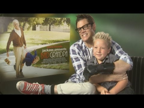 Johnny Knoxville : Bad Grandpa jokes around in funny