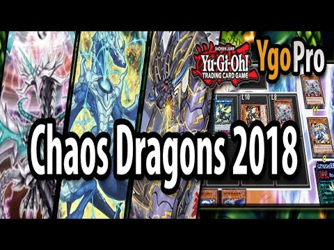 Chaos Dragons 2018 for TOP TIER!! (YgoPro) - Levionia & Superbolt Thunder Dragon!