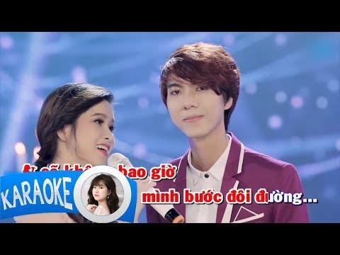 karaoke Giận hờn 2 - Cẩm Loan & Kha Thi ( Beat Gốc )
