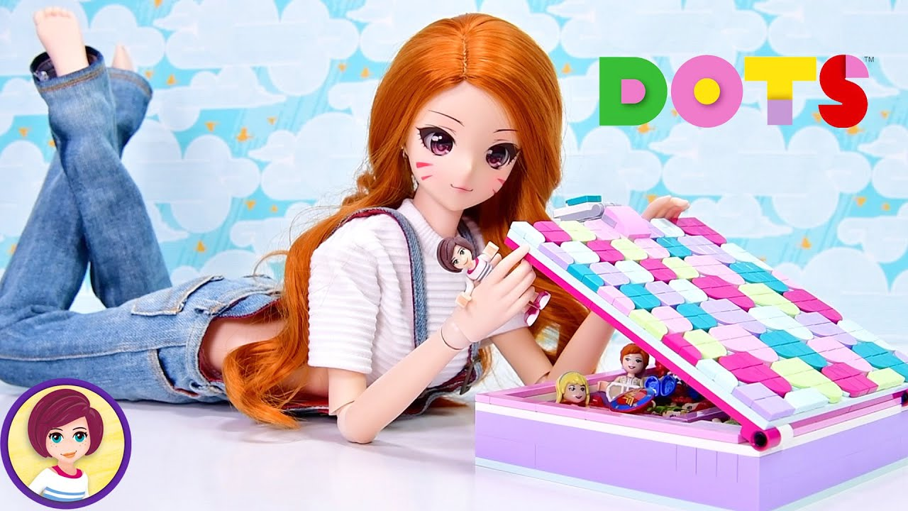 Lego Dots Jewellery Box Build & Review DIY Craft