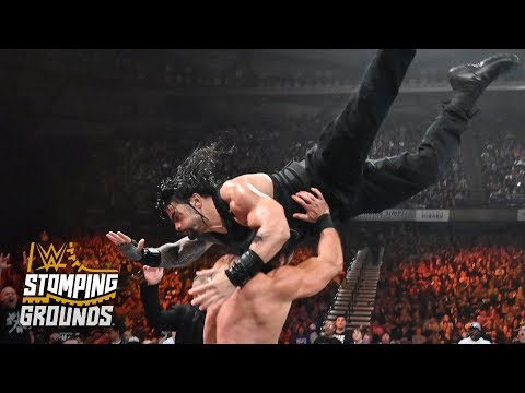 Roman Reigns takes flight like Superman: WWE Stomping Grounds 2019 (WWE Network Exclusive)