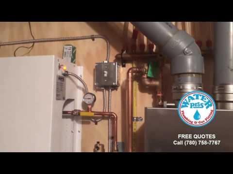 Post installation video of mechanical room refit in Edmonton