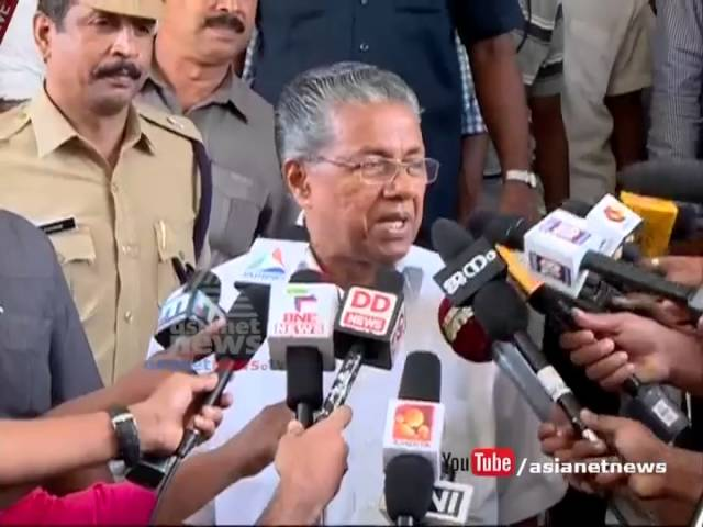 Pinarayi Vijayan's response after meets Governor