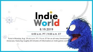 Indie World 8/19/19 Live Reaction and Commentary
