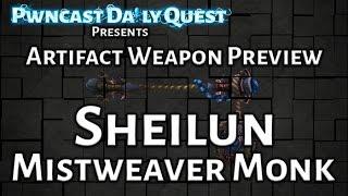 Mistweaver Monk Artifact Weapon Preview: World of Warcraft Legion Beta