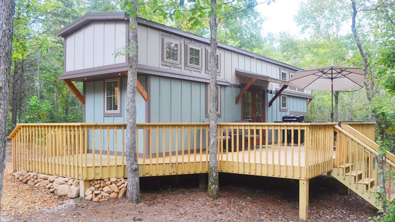 Luxury Tiny House built by Timbercraft Tiny Homes | Lovely Tiny House
