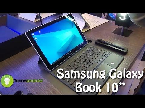 """Samsung Galaxy Book 10"""", prime impressioni dal Mobile World Congress 2017 - Tecnoandroid.it"""