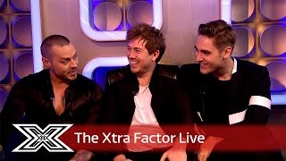 Busted chat to Matt and Rylan | The Xtra Factor Live