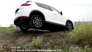 Diagonal / i-ACTIV AWD Test | 2017 Mazda CX-5 | Review 2/4
