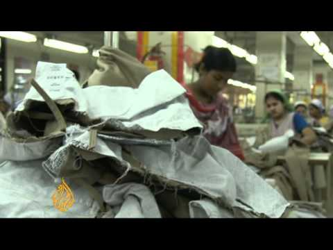 Bangladesh textile workers struggle to survive