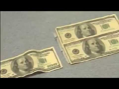 Real Money vs Counterfeit Money - YouTube