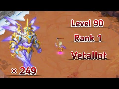 Saint Warden | X 249 😲😲😲 | Rank-1 | Best Team | No Set Up | Castle Clash