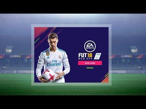 FIFA 18 WEB APP - ABRIENDO MIS PRIMEROS SOBRES !!!
