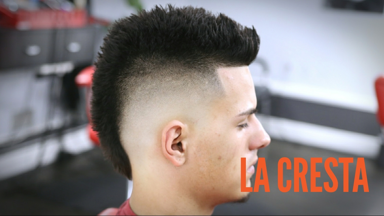 Cresta Tutorial Mohicano Paso A Paso Youtube