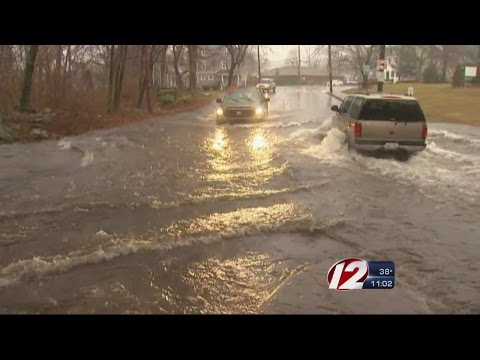 Cranston cleans out storm drains in preps for wet weather