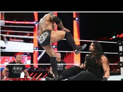 Roman Reigns Vs Triple H Raw 2017 Video Download In HD , Video Song, Movies, Trailer Free Do